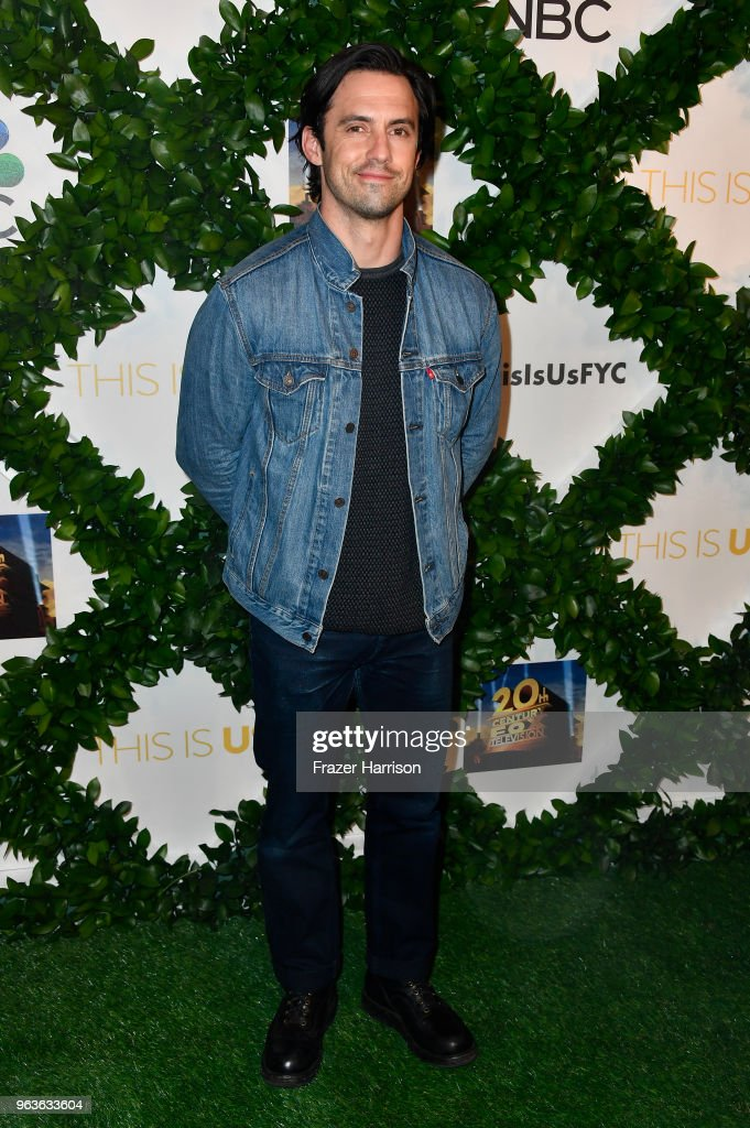 Milo Ventimiglia attends 20th Century Fox Television And NBC's 'This Is Us' FYC Screening And Panel at The Theatre at Ace Hotel on May 29, 2018 in Los Angeles, California.