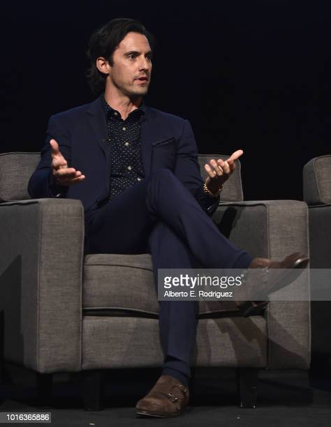 Milo Ventimiglia attends a panel discussion for An Evening With This Is Us at Paramount Studios on August 13 2018 in Hollywood California