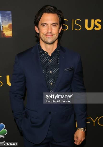 Milo Ventimiglia attends an evening with 'This Is Us' at Paramount Studios on August 13 2018 in Hollywood California