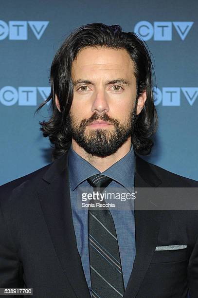 Milo Ventimiglia attends CTV Upfronts 2016 at Sony Centre for the Performing Arts on June 8 2016 in Toronto Canada