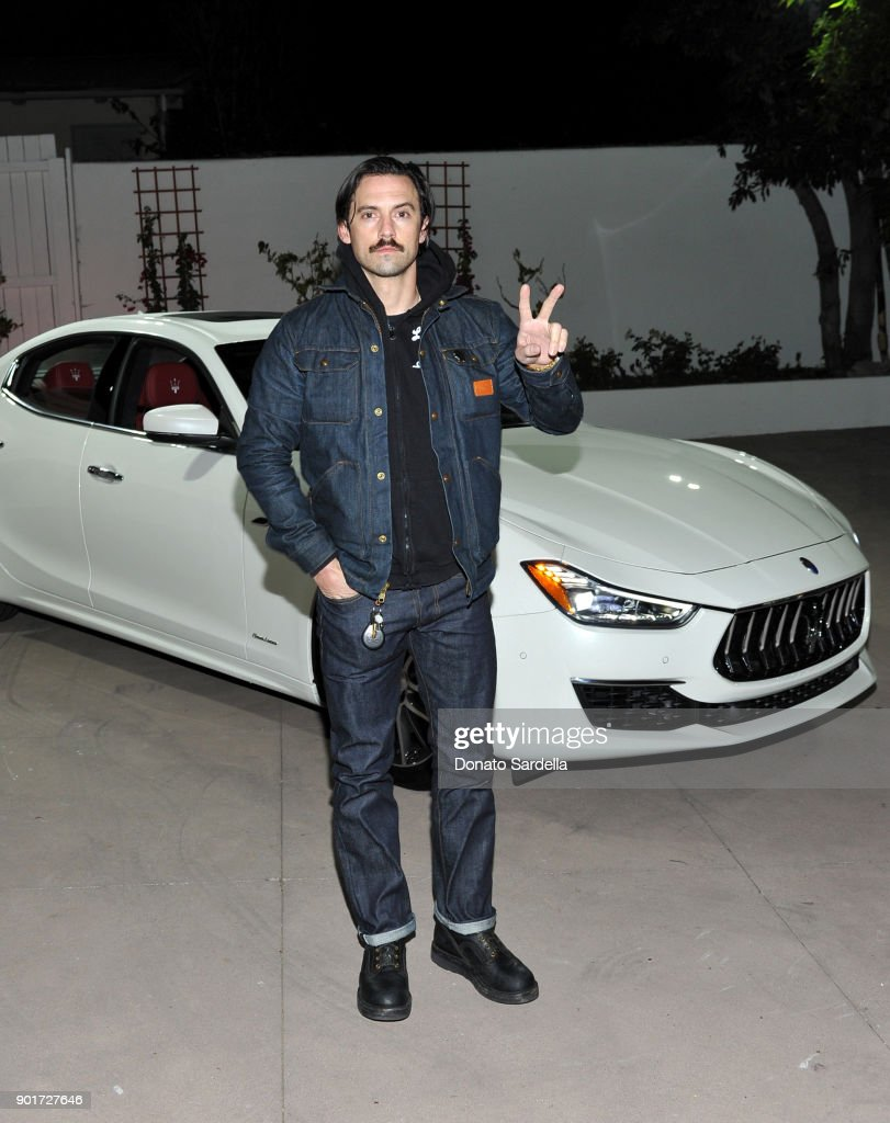 Esquire and the Medavoys host a party to celebrate the Golden Globes, presented by Maserati