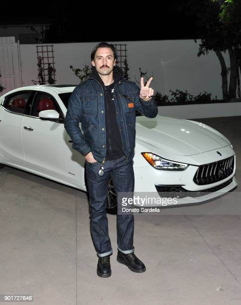 Milo Ventimiglia attends Esquire and the Medavoys host a party to celebrate the Golden Globes presented by Maserati at Private Residence on January 5...