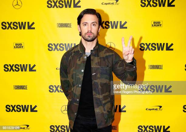 Milo Ventimiglia attends Featured Session The Cast of 'This Is Us' during SXSW at Austin Convention Center on March 13 2018 in Austin Texas