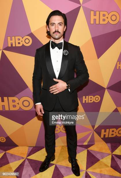 Milo Ventimiglia attends HBO's Official Golden Globe Awards After Party at Circa 55 Restaurant on January 7 2018 in Los Angeles California