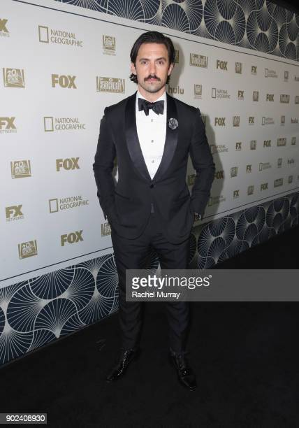 Milo Ventimiglia attends Hulu's 2018 Golden Globes After Party at The Beverly Hilton Hotel on January 7 2018 in Beverly Hills California