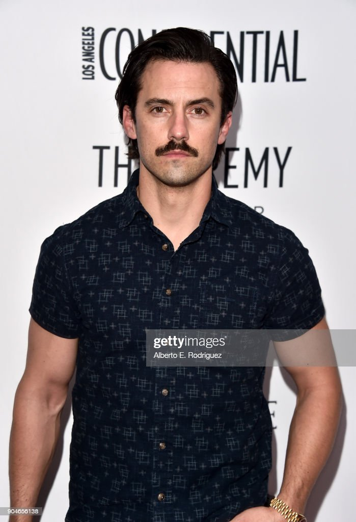 """Los Angeles Confidential Celebrates """"Awards Issue"""" Hosted By Cover Stars Alison Brie, Milo Ventimiglia And Ana De Armas - Arrivals"""