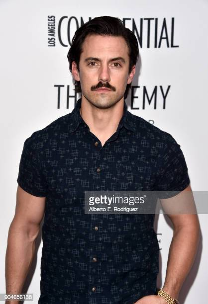 Milo Ventimiglia attends Los Angeles Confidential Celebrates 'Awards Issue' hosted by cover stars Alison Brie Milo Ventimiglia and Ana De Armas at...