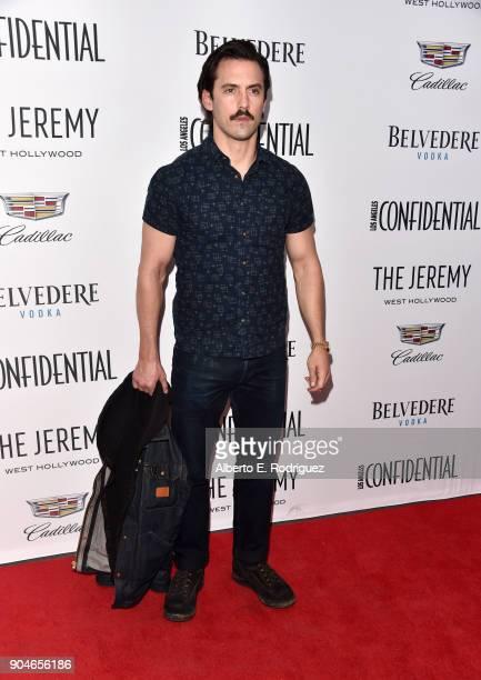 Milo Ventimiglia attends Los Angeles Confidential Celebrates 'Awards Issue' hosted by cover stars Alison Brie Milo Ventimiglia and Ana De Armas at...