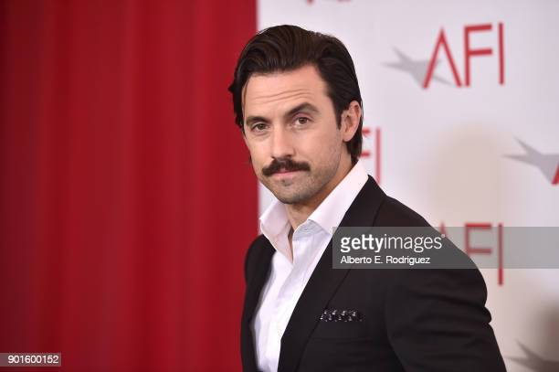 Milo Ventimiglia attends the 18th Annual AFI Awards at Four Seasons Hotel Los Angeles at Beverly Hills on January 5 2018 in Los Angeles California