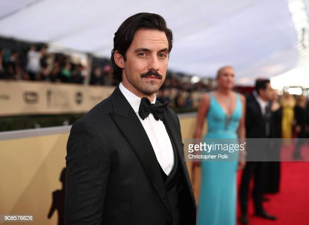 Milo Ventimiglia attends the 24th Annual Screen Actors Guild Awards at The Shrine Auditorium on January 21 2018 in Los Angeles California 27522_010