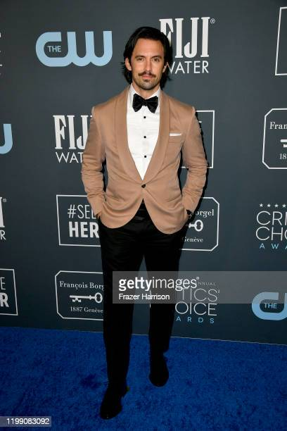 Milo Ventimiglia attends the 25th Annual Critics' Choice Awards at Barker Hangar on January 12 2020 in Santa Monica California