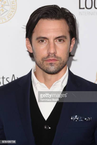 Milo Ventimiglia attends the 55th Annual International Cinematographers Guild Publicists Awards at The Beverly Hilton Hotel on March 2 2018 in...