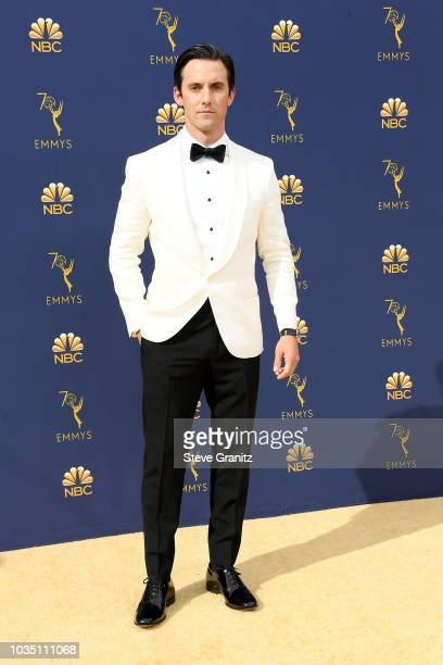 Milo Ventimiglia attends the 70th Emmy Awards at Microsoft Theater on September 17 2018 in Los Angeles California