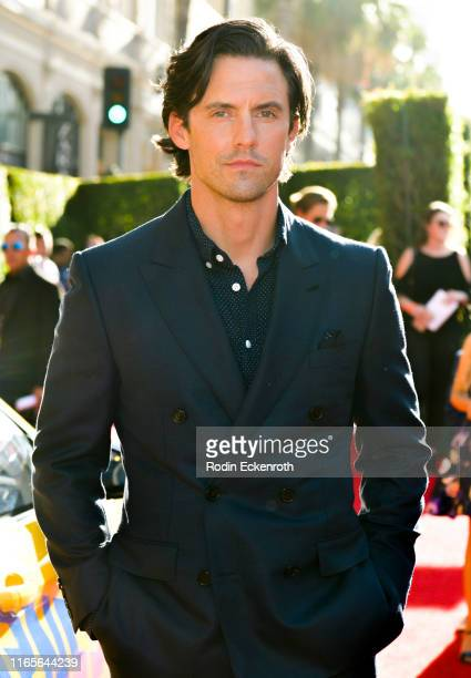 Milo Ventimiglia attends the premiere of 20th Century Fox's The Art of Racing in the Rain at El Capitan Theatre on August 01 2019 in Los Angeles...