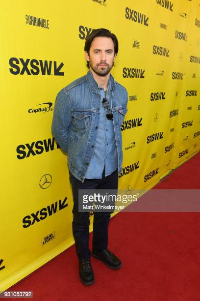 Milo Ventimiglia attends the 'This is Us' Premiere 2018 SXSW Conference and Festivals at Paramount Theatre on March 12 2018 in Austin Texas