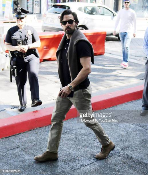 Milo Ventimiglia is seen on March 25 2019 in Los Angeles