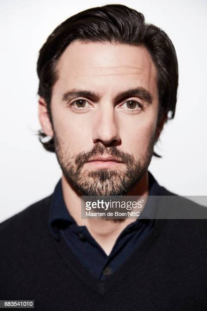Milo Ventimiglia of 'This is Us' poses for a photo during NBCUniversal Upfront Events Season 2017 Portraits Session at Ritz Carlton Hotel on May 15...