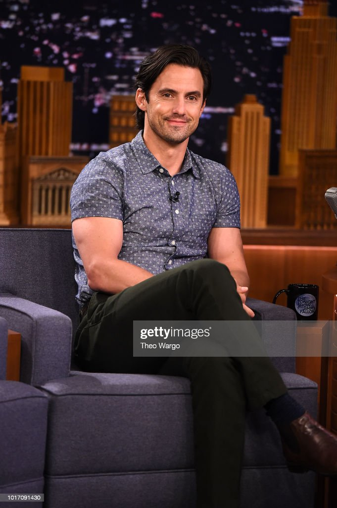 "Milo Ventimiglia Visits ""The Tonight Show Starring Jimmy Fallon"""