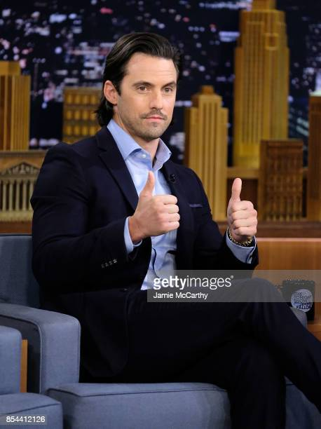 Milo Ventimiglia visits 'The Tonight Show Starring Jimmy Fallon'at Rockefeller Center on September 25 2017 in New York City