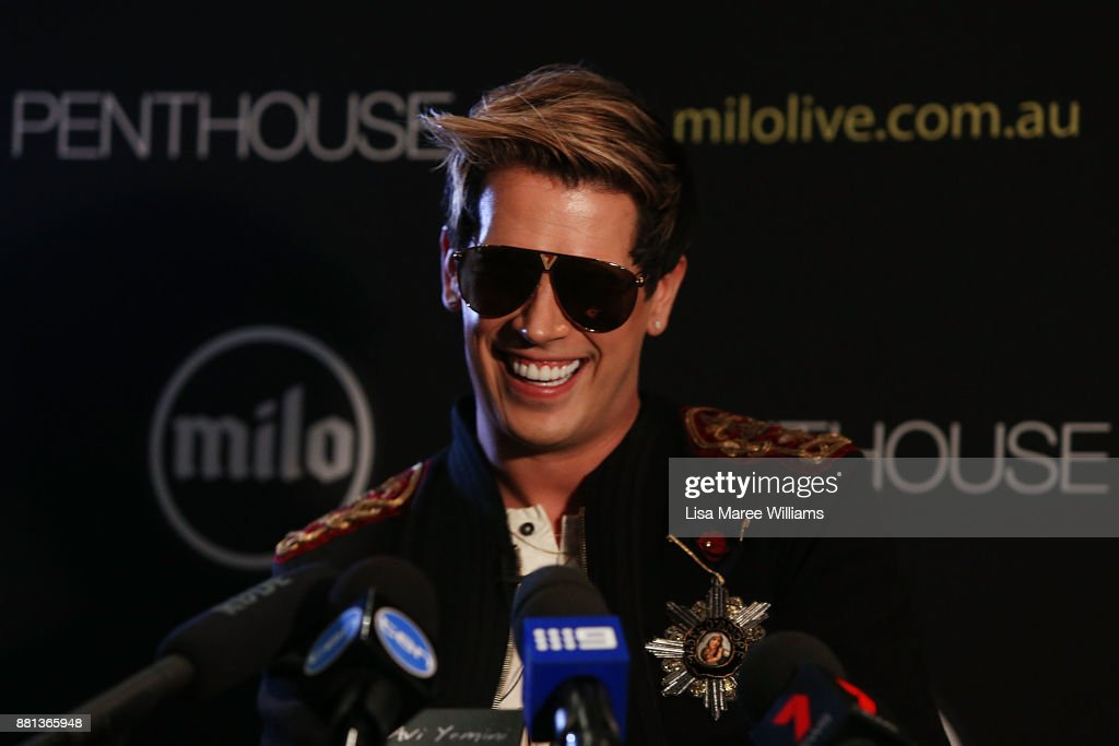 Milo Yiannopoulos Press Conference