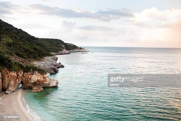 Milopotamos Beach, Griechenland