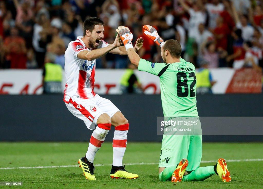 Crvena Zvezda v Young Boys - UEFA Champions League Play Off: Second Leg : News Photo