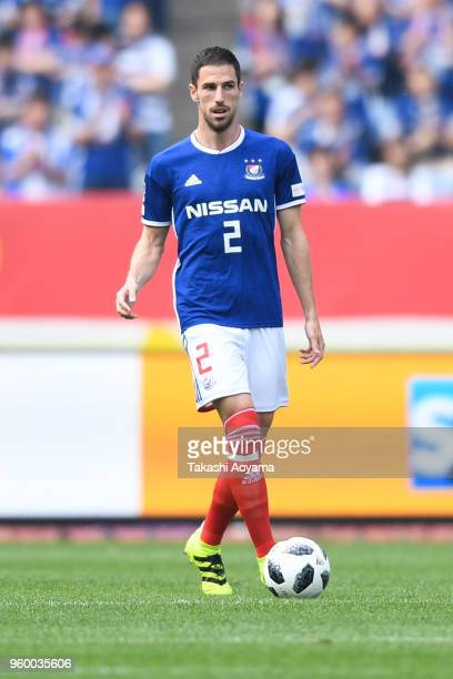 Milos Degenek of the Yokohama FMarinos in action during the JLeague J1 match between Yokohama FMarinos and VVaren Nagasaki at Nissan Stadium on May...