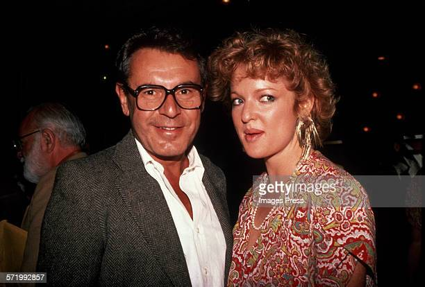Milos Forman and Christine Ebersole circa 1984 in New York City