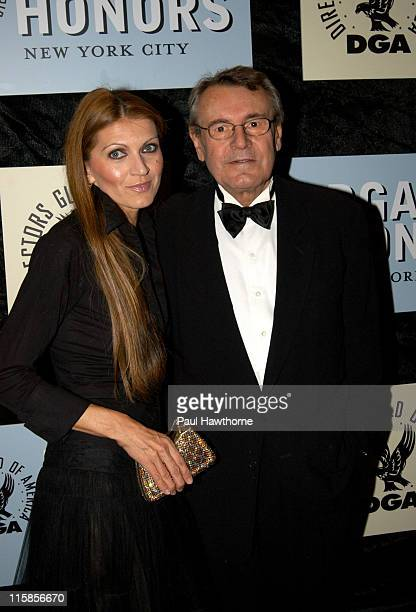Milos Forman and his wife Martina during 4th Annual Directors Guild of America Honors New York at Waldorf Astoria in New York City New York United...