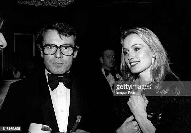 Milos Forman and Jessica Lange circa 1978 in New York City