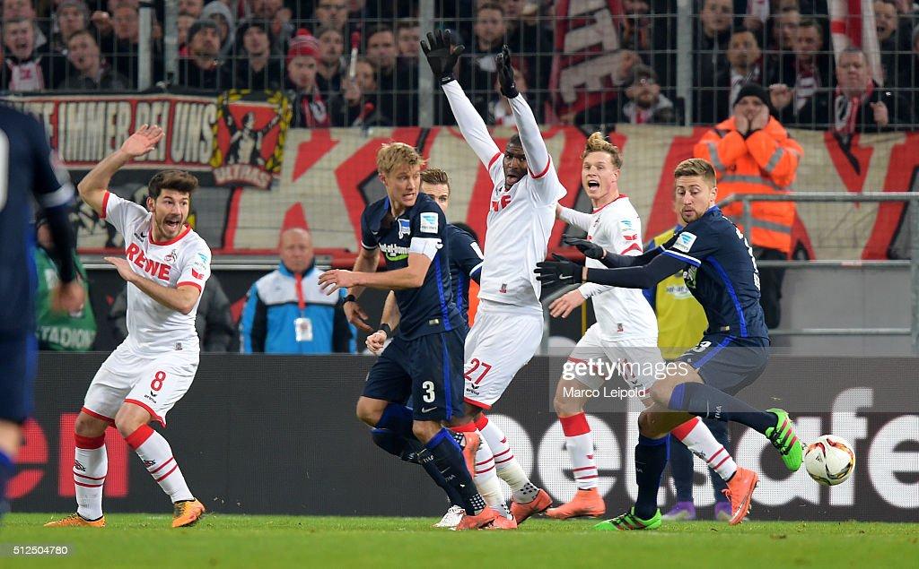 1. FC Koeln v Hertha BSC - Bundesliga : News Photo