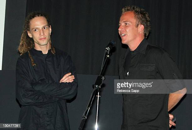 Milos Loncarevic codirector and Asger Leth director