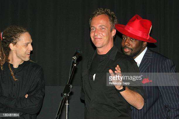 Milos Loncarevic codirector Asger Leth director and Wyclef Jean