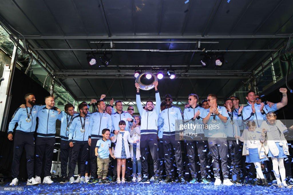 Sydney FC Celebrate A-League Grand Final Win