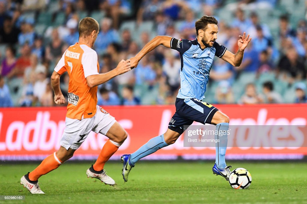A-League Rd 23 - Sydney v Brisbane