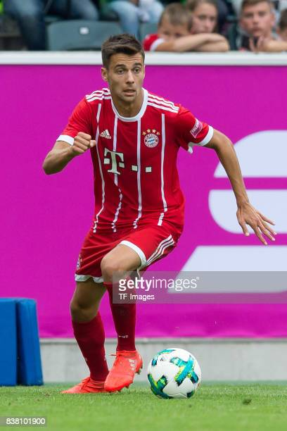 Milos Pantovic of Bayern Muenchen controls the ball during the Telekom Cup 2017 Final between SV Werder Bremen and FC Bayern Muenchen at Borussia...