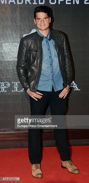 Milos Raonic attend the player party during day two of the Mutua Madrid Open tennis tournament on May 3 2015 in Madrid Spain