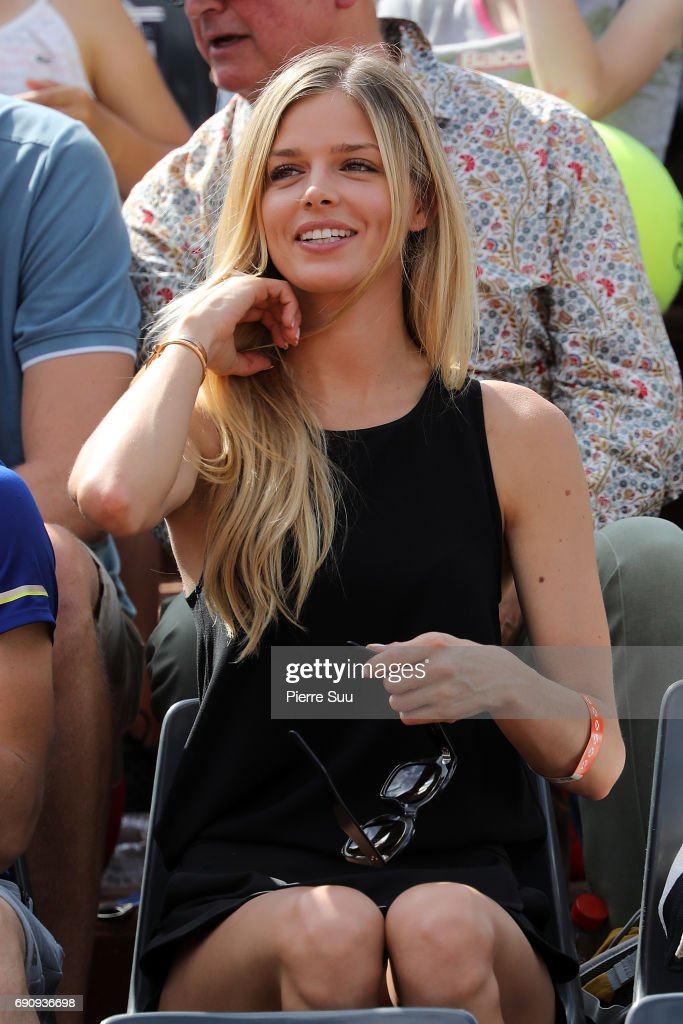 Celebrities At  2017 French Open - Day Four : News Photo