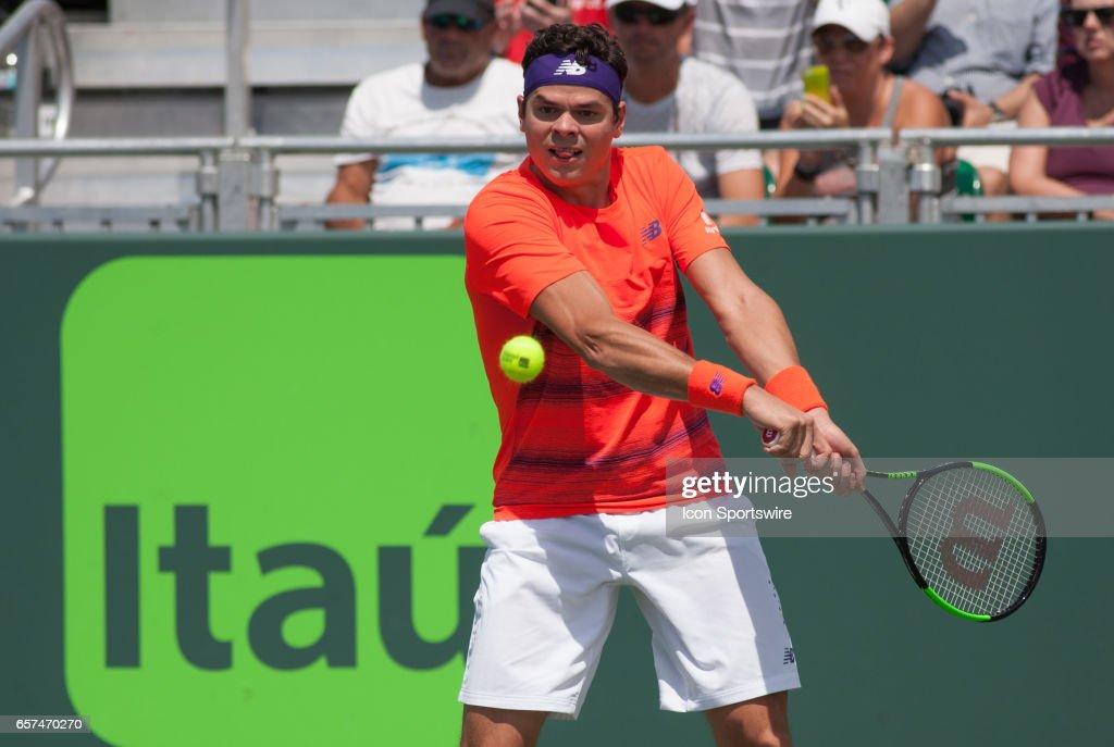TENNIS: MAR 24 Miami Open : News Photo