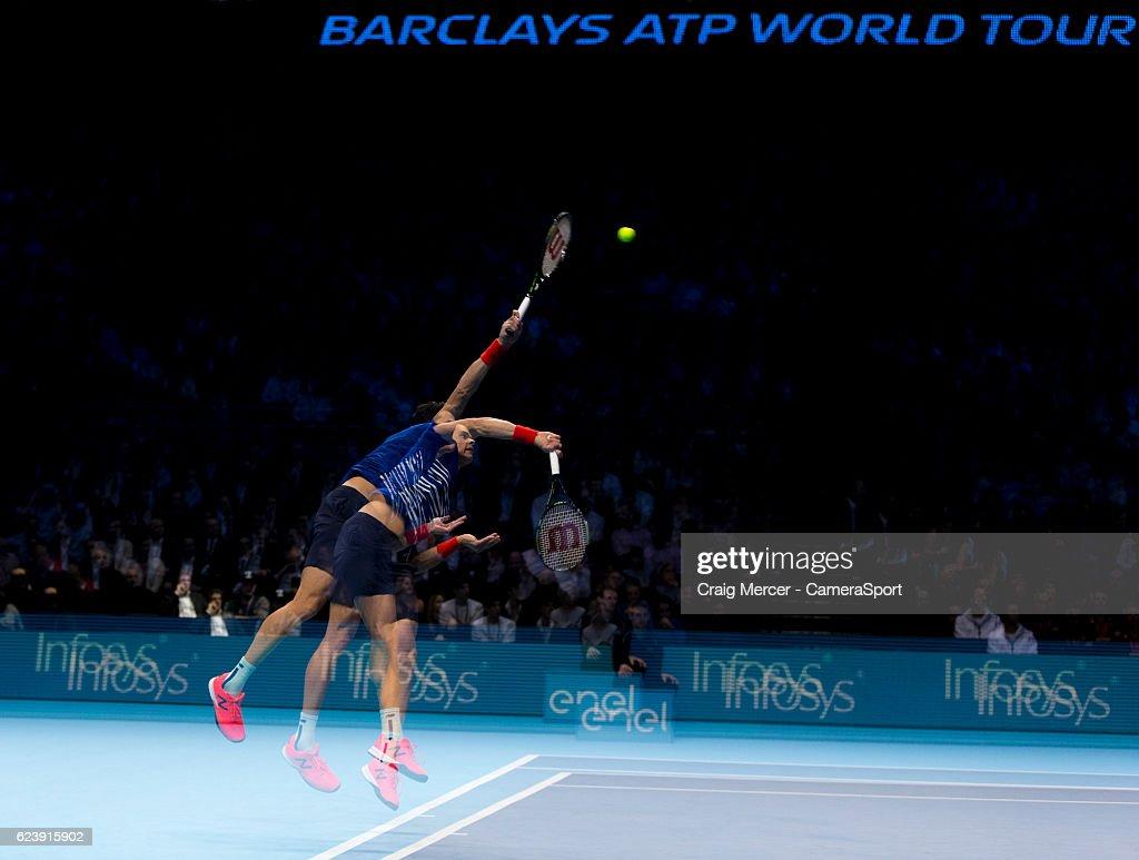 Day Five - Barclays ATP World Tour Finals : ニュース写真