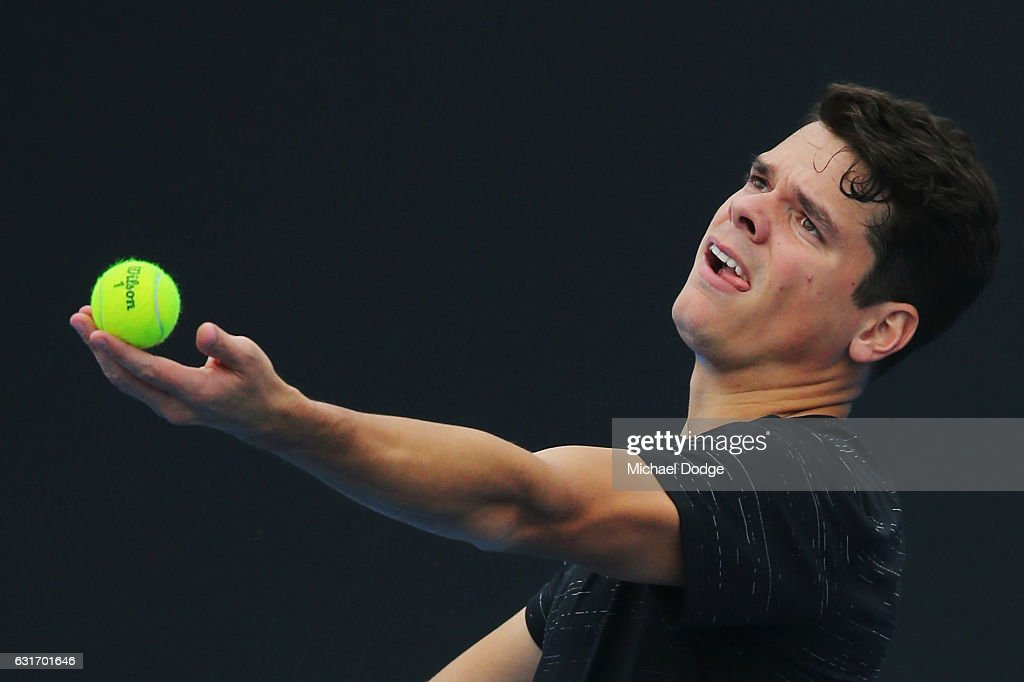 2017 Australian Open - Previews : News Photo