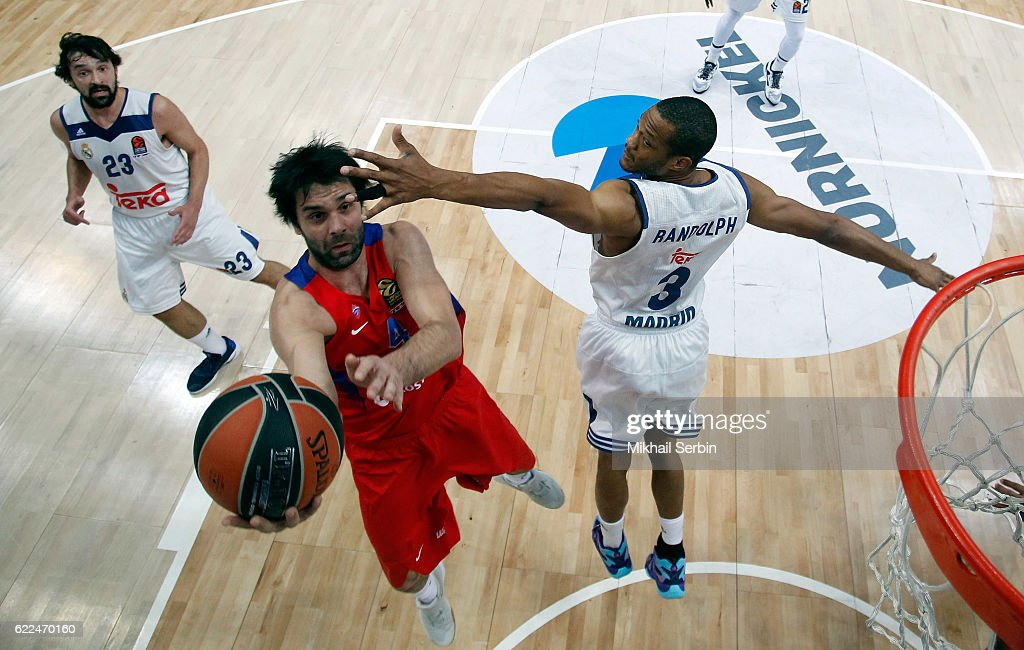CSKA Moscow v Real Madrid - Turkish Airlines Euroleague