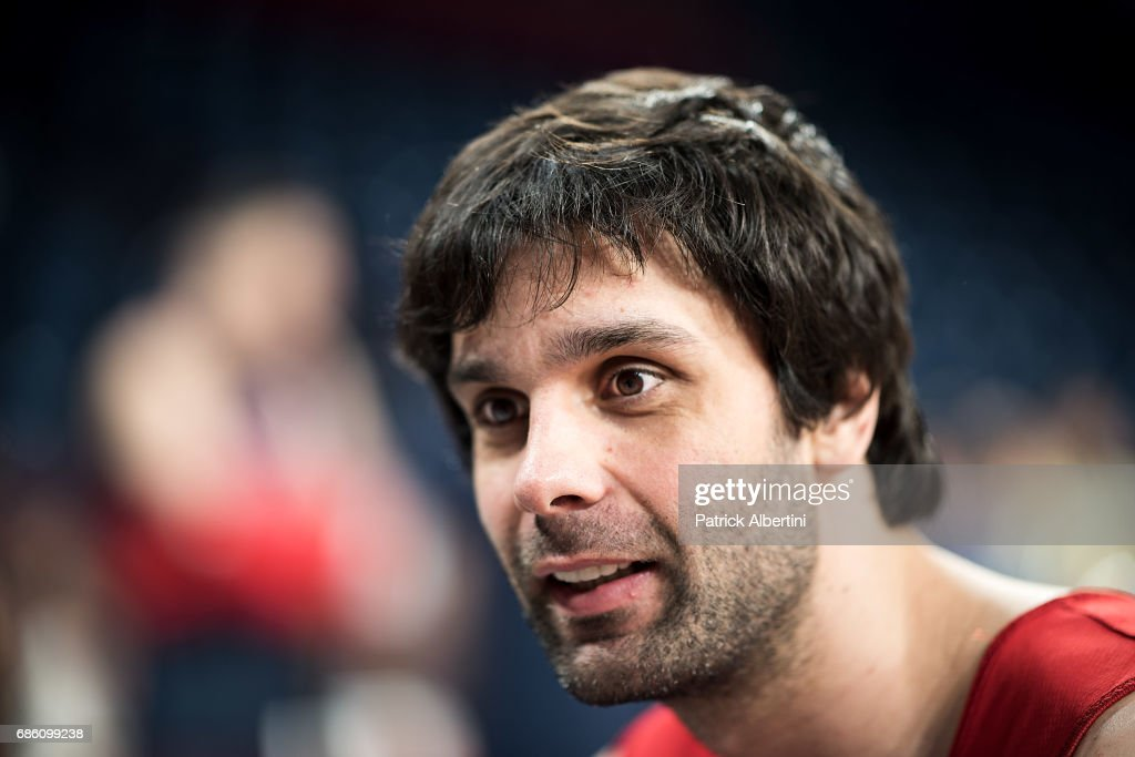 Milos Teodosic, #4 of CSKA Moscow during the 2017 Turkish Airlines EuroLeague Final Four CSKA Moscow Practice at Sinan Erdem Dome on May 20, 2017 in Istanbul, Turkey.