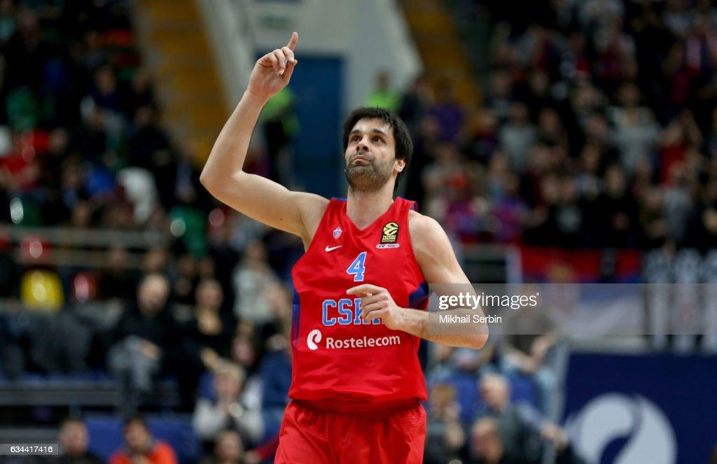 CSKA Moscow v Crvena Zvezda mts Belgrade 2016/2017 Turkish Airlines EuroLeague : News Photo
