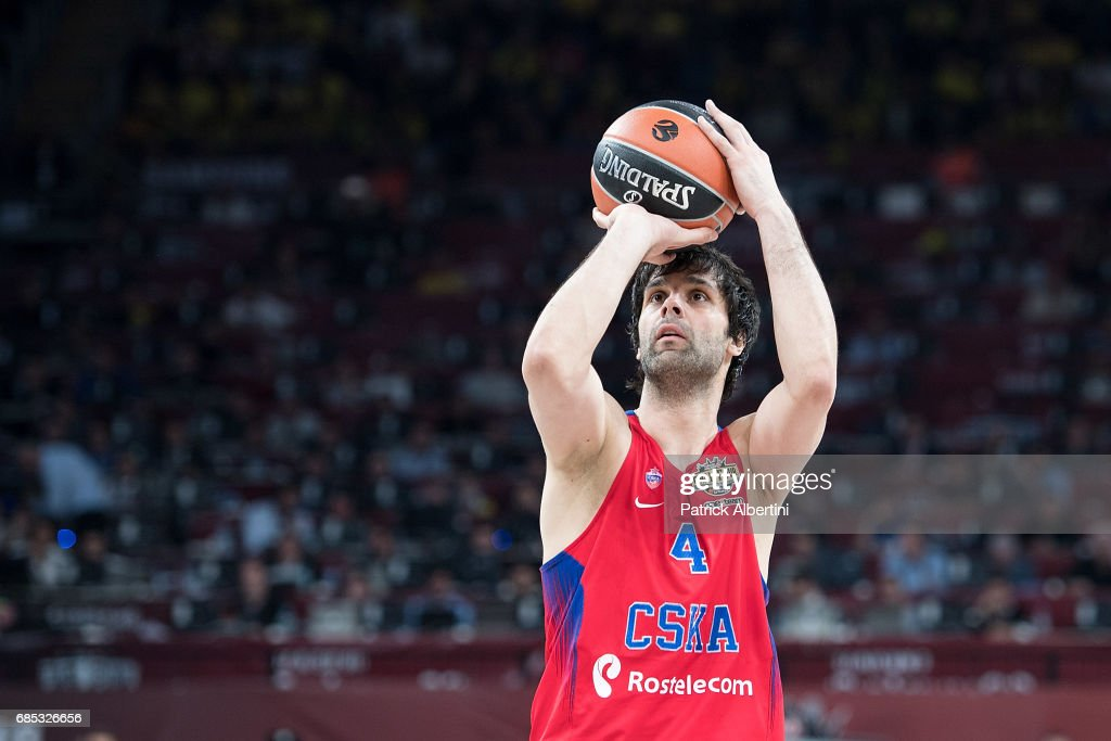 CSKA Moscow v Olympiacos Piraeus - Turkish Airlines EuroLeague Final Four Istanbul Semifinal B : News Photo