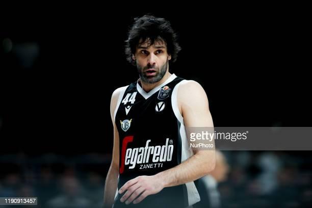 Milos Teodosic during the Italy Lega Basket of Serie A match between Segafredo Virtus Bologna and A|X Armani Exchange Milano at Virtus Segafredo...