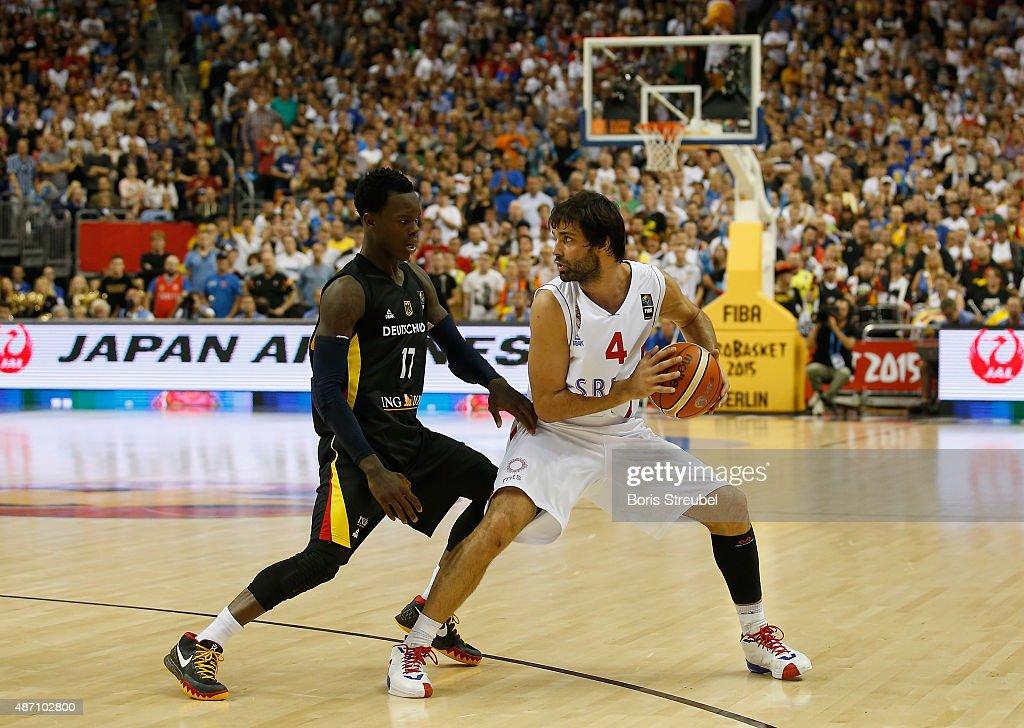 Serbia v Germany - FIBA Eurobasket 2015 : News Photo