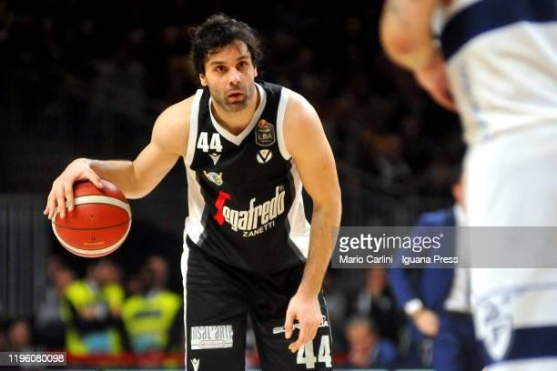Milos Teodosic of Virtus Segafredo in action during the LBA LegaBasket italian championship of Serie A 2019/2020 match between Virtus Segafredo...
