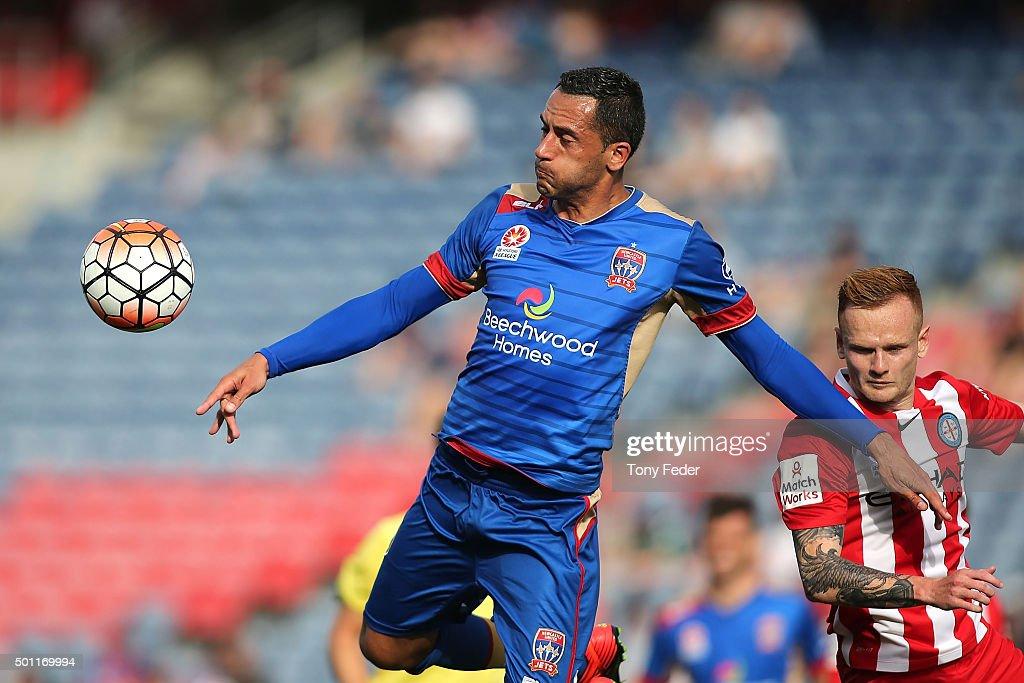 A-League Rd 10 - Newcastle v Melbourne