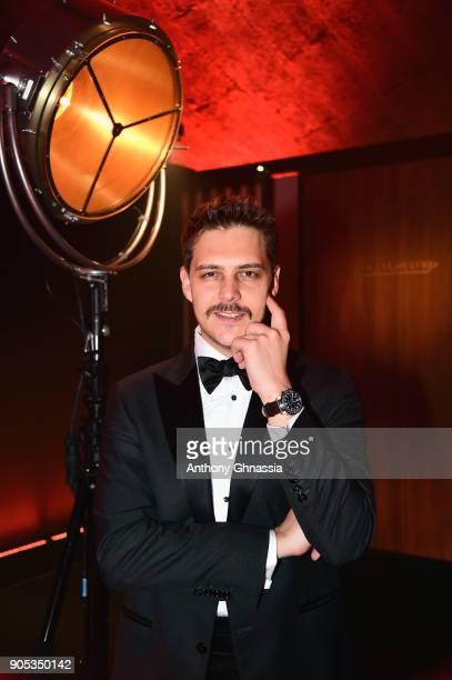 Milosh Bikovich attends JaegerLeCoultre Polaris Gala Evening at the SIHH 2018 at Pavillon Sicli on January 15 2018 in Les Acacias Switzerland